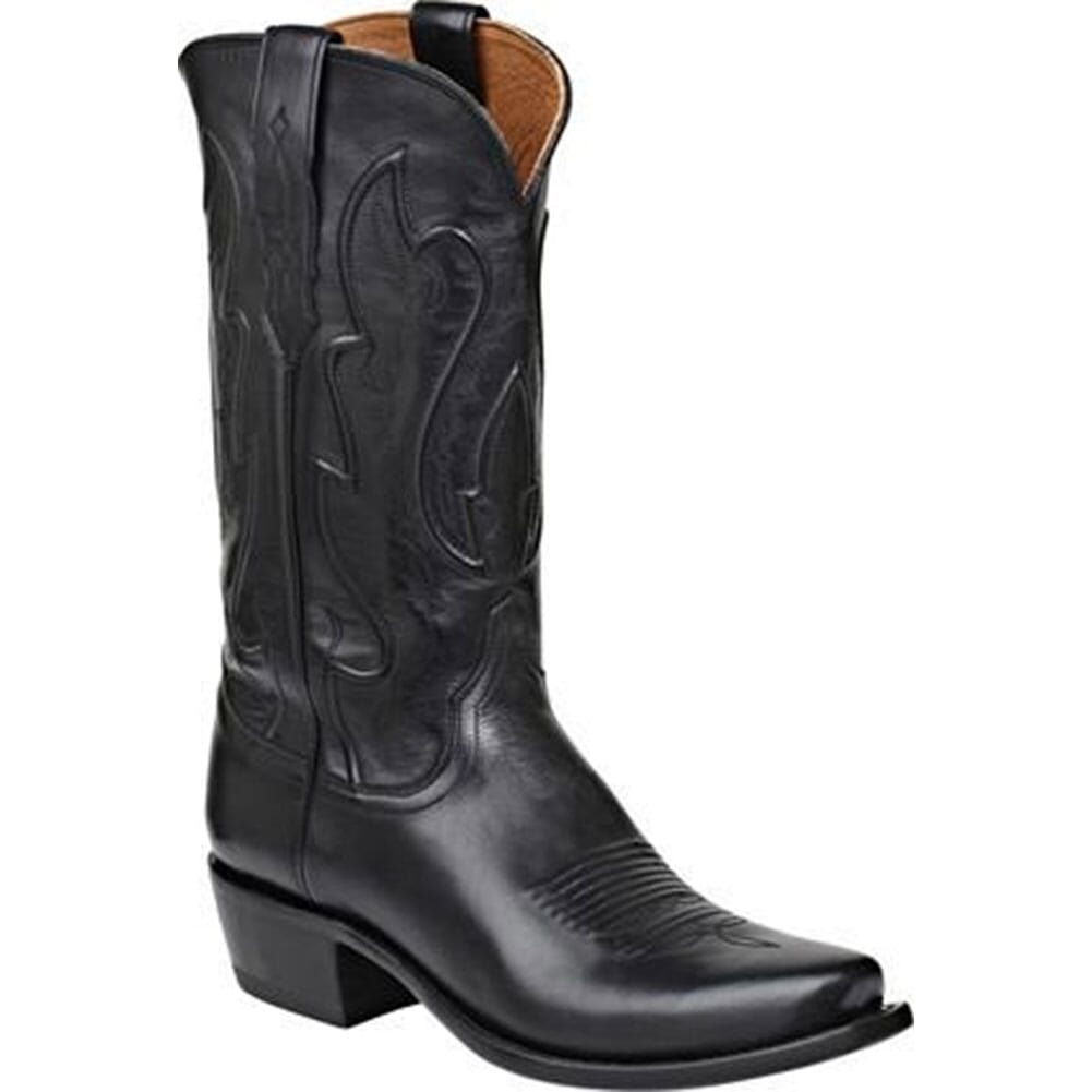 Image for Lucchese Men's Cole Western Boots - Black from bootbay