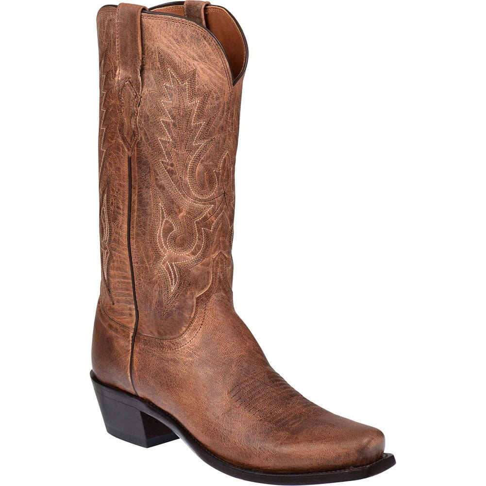 Image for Lucchese 1883 Men's Lewis Western Boots - Tan from bootbay