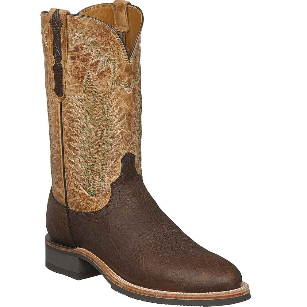 Image for Lucchese Men's Wyatt Work Boots - Booster Brown from bootbay