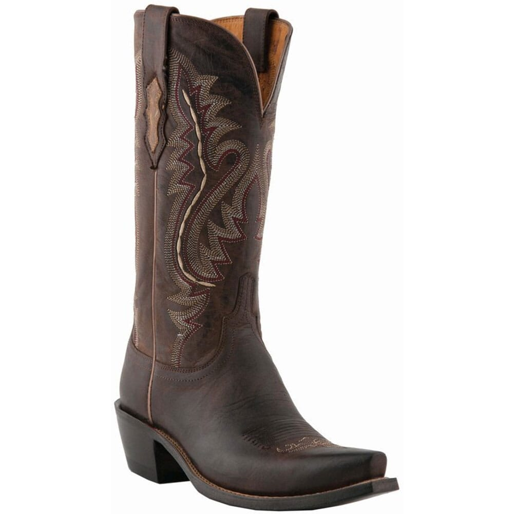 Image for Lucchese Women's Cassidy Western Boots - Chocolate from bootbay