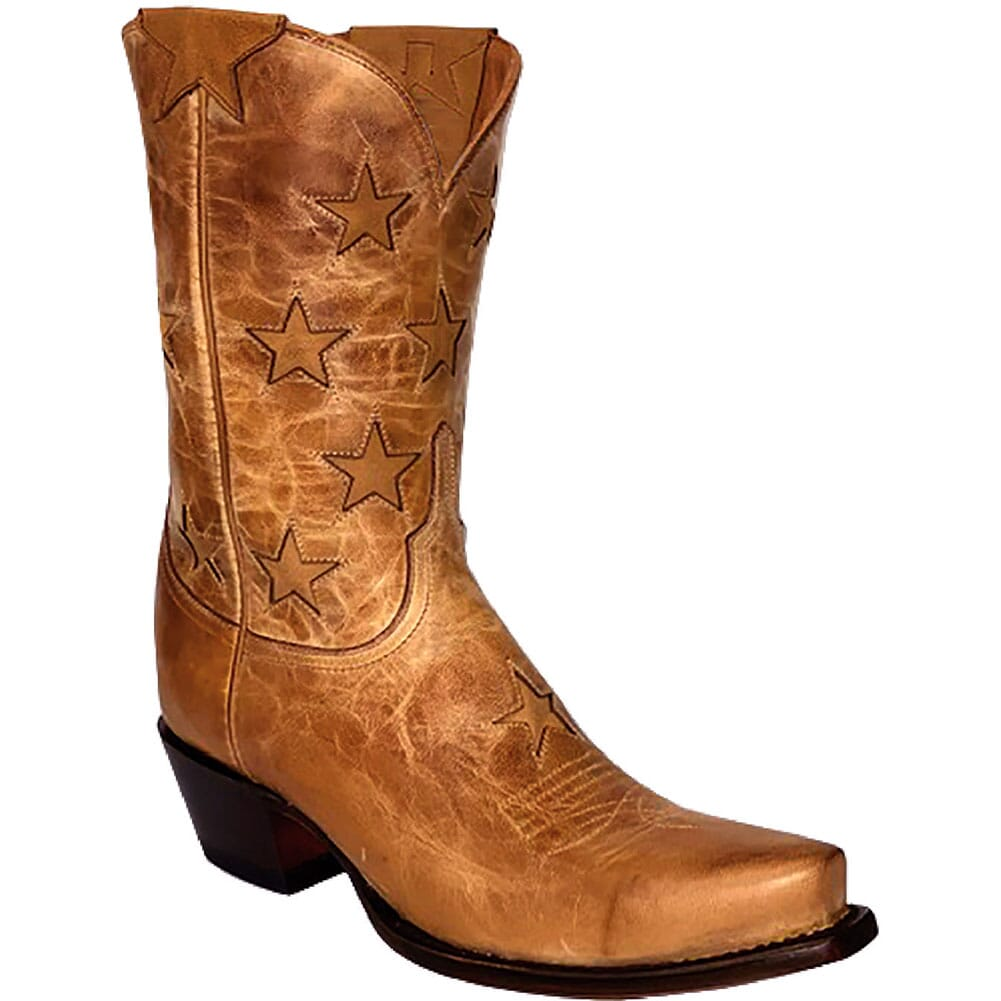 Image for Lucchese Women's Estrella Western Boots - Tan from elliottsboots
