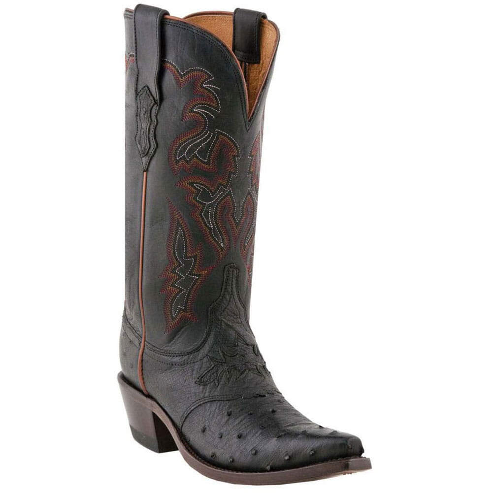 Image for Lucchese Women's Augusta Western Boots - Black from elliottsboots