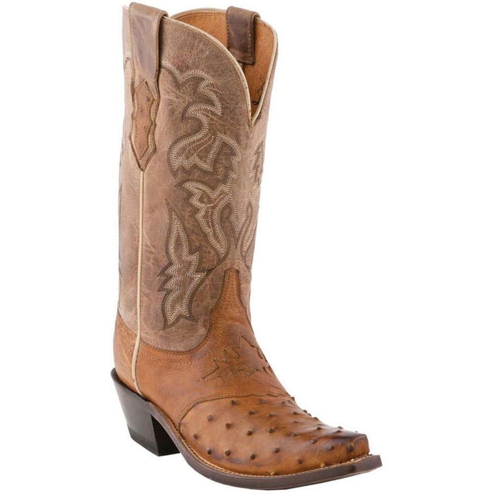 Image for Lucchese Women's Augusta Western Boots - Camel Tan from bootbay