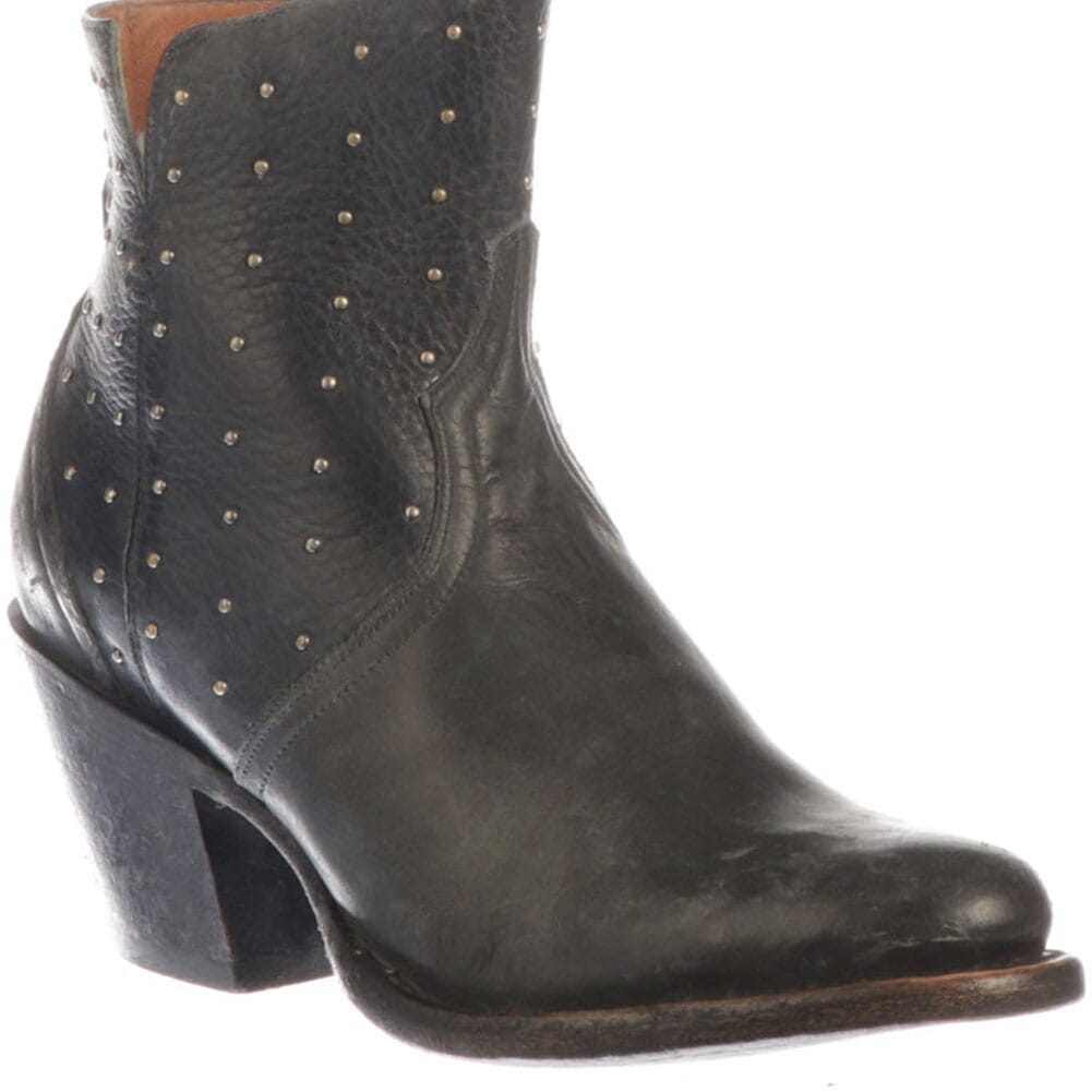 Image for Lucchese Women's Harley Western Boots - Black from elliottsboots