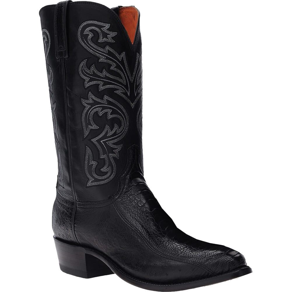Image for Lucchese Men's Nick Western Boots - Black from bootbay