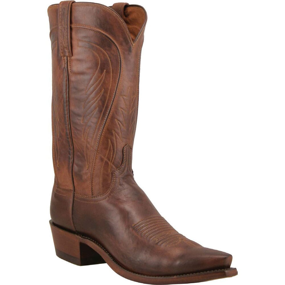Image for Lucchese 1883 Men's Bart Western Boots - Tan from bootbay