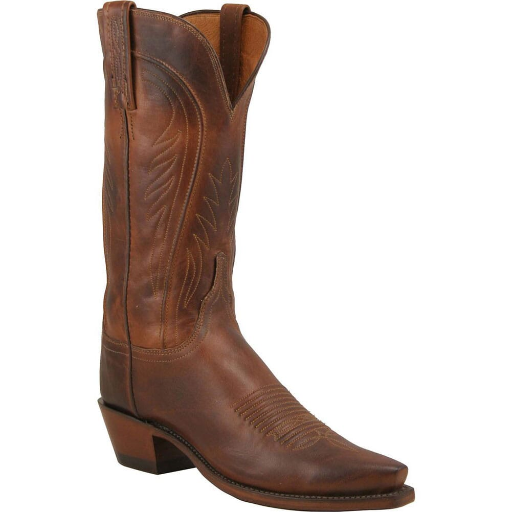 Image for Lucchese Women's Amberle Western Boots - Tan from bootbay