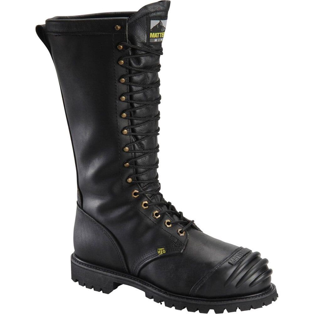 Image for Matterhorn Men's TigerTip Internal Metguard Safety Boots - Black from bootbay