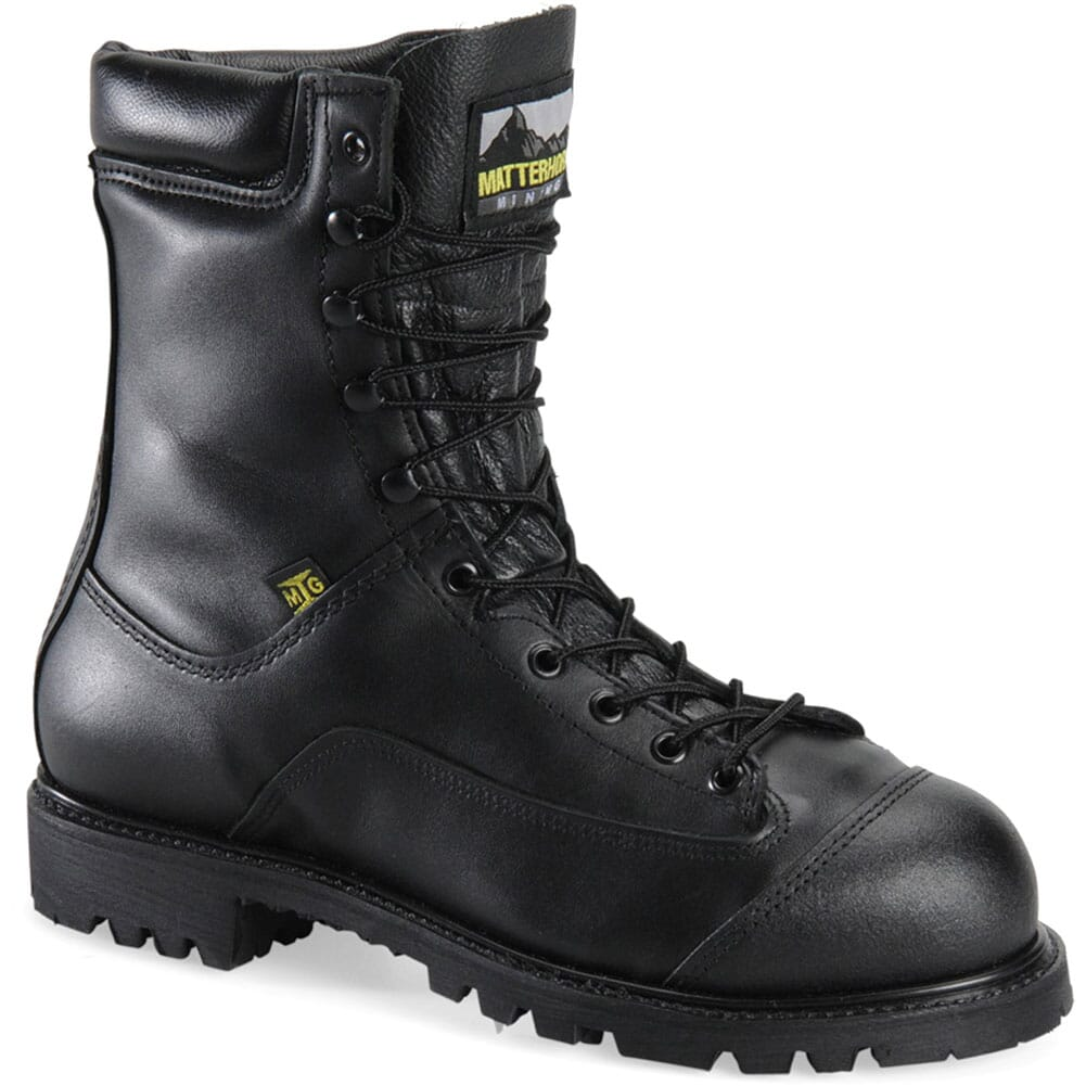 Image for Matterhorn Men's Prep Plant Safety Boots - Black from bootbay