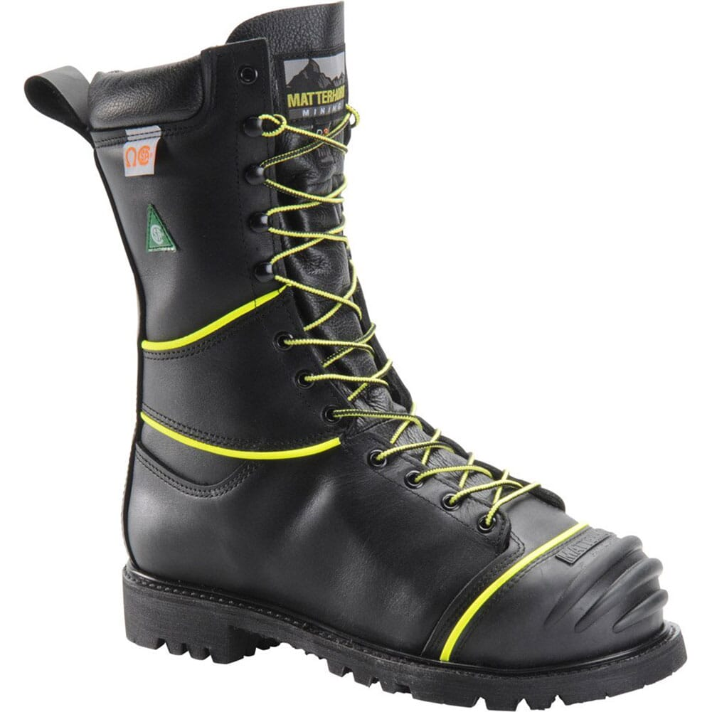 Image for Matterhorn Men's WP INS Internal Met Safety Boots - Black from bootbay