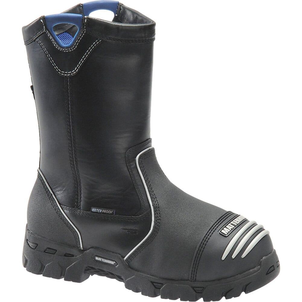 Image for Matterhorn Men's Internal Met Ranch Safety Boots - Black from bootbay