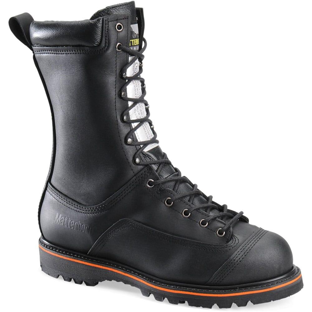 Image for Matterhorn Men's Waterproof UL Safety Boots - Black from bootbay