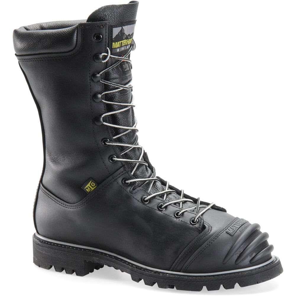 Image for Matterhorn Men's WP Internal Met EH Safety Boots - Black from bootbay