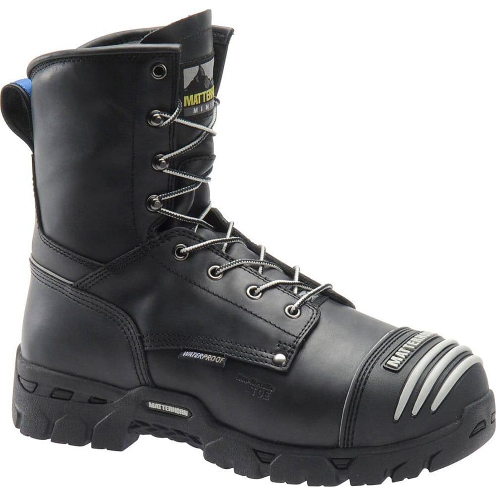 Image for Matterhorn Men's WP Internal Metguard Safety Boots - Black from bootbay