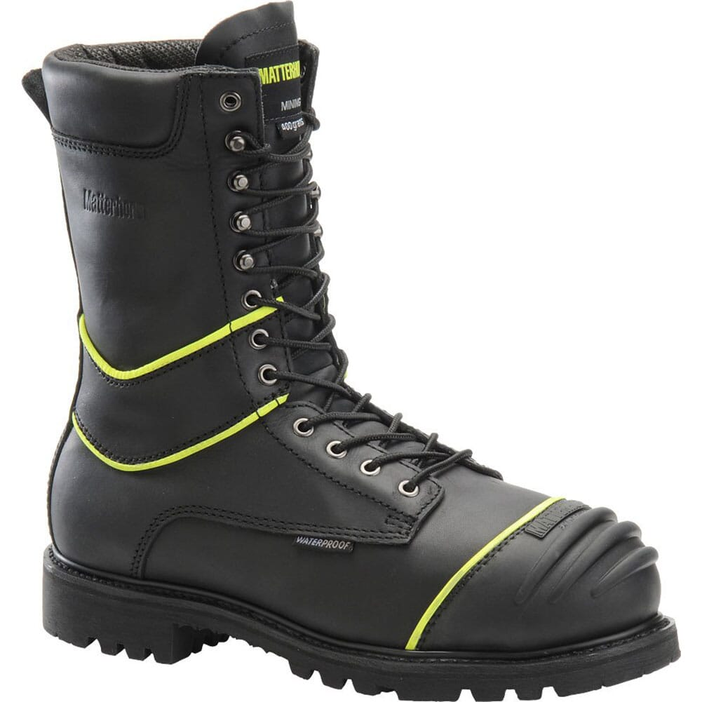 Image for Matterhorn Men's WP INS Safety Boots - Black from bootbay
