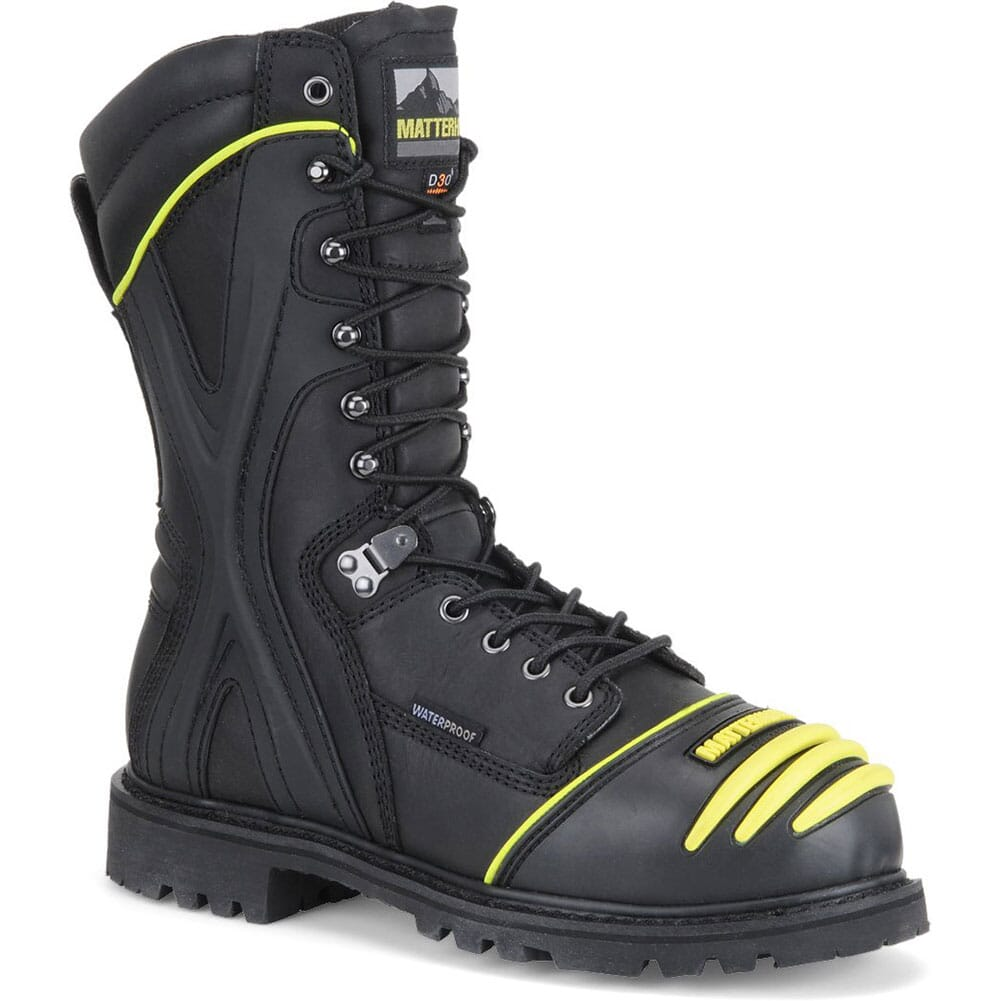Image for Matterhorn Men's 10IN WP Internal Metguard Safety Boots - Black from bootbay