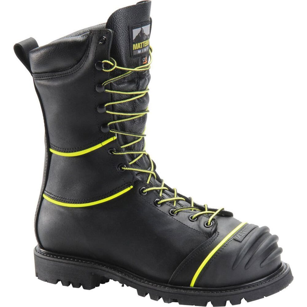 Image for Matterhorn Men's WP Internal Met INS Safety Boots - Black from bootbay