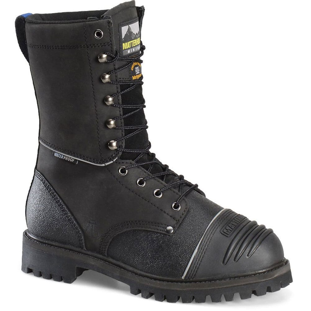 Image for Matterhorn Men's WP Internal Met Safety Boots - Black from bootbay