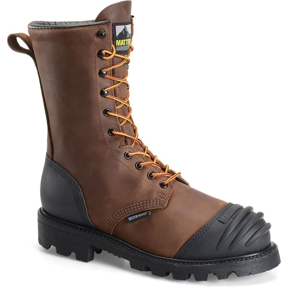 Image for Matterhorn Men's WP Internal Met Safety Boots - Brown from bootbay