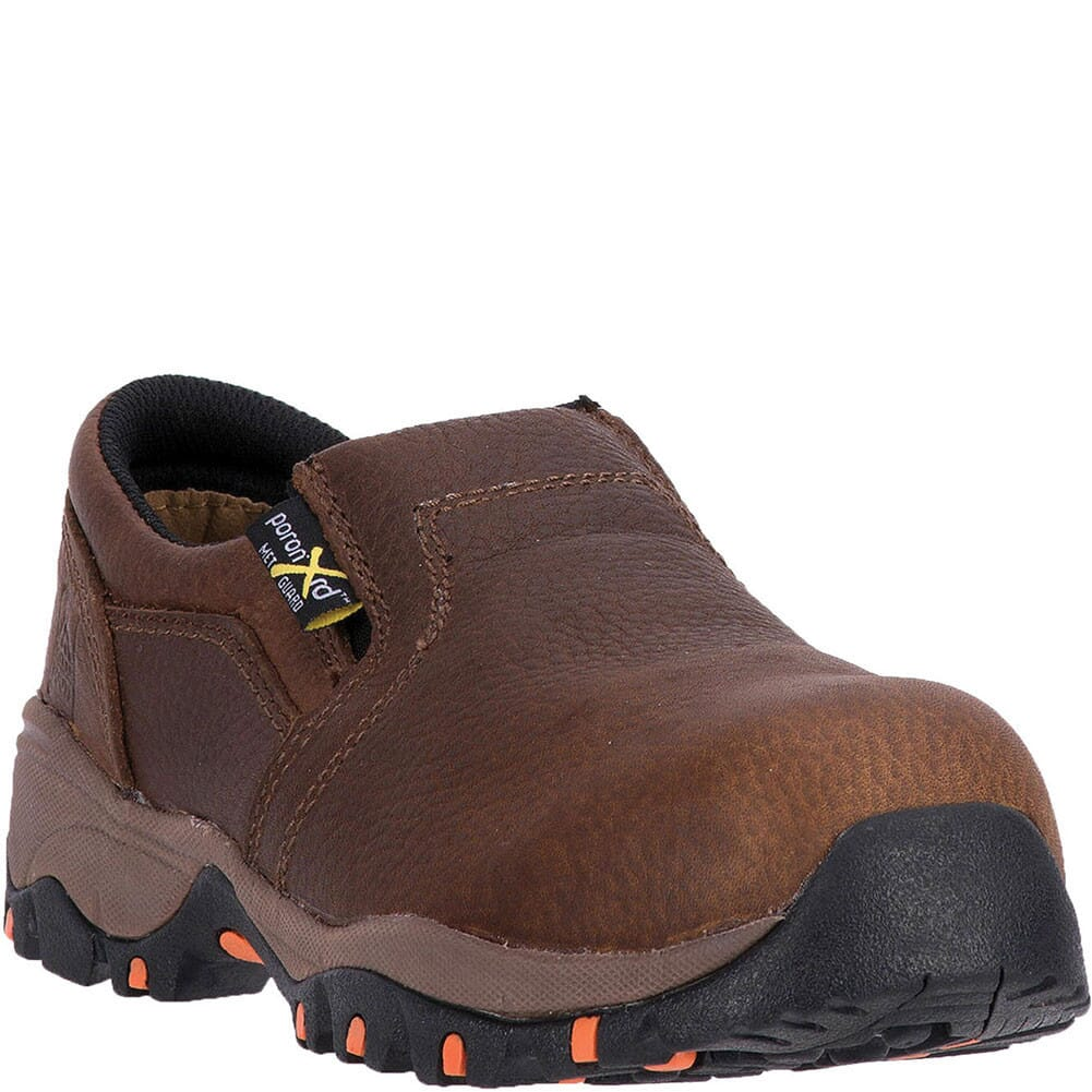 Image for McRae Women's Met Guard Safety Shoes - Brown from elliottsboots