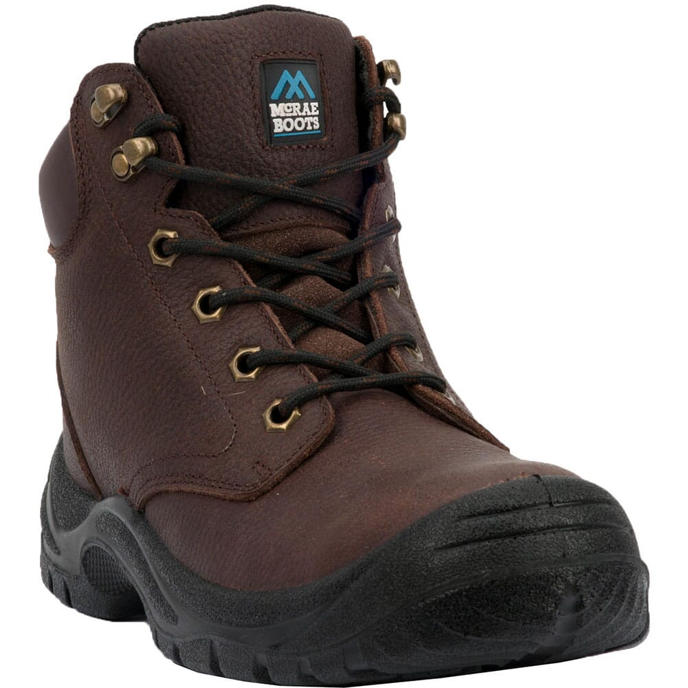 Image for McRae Men's Girder Lace Up Safety Boots - Brown from bootbay