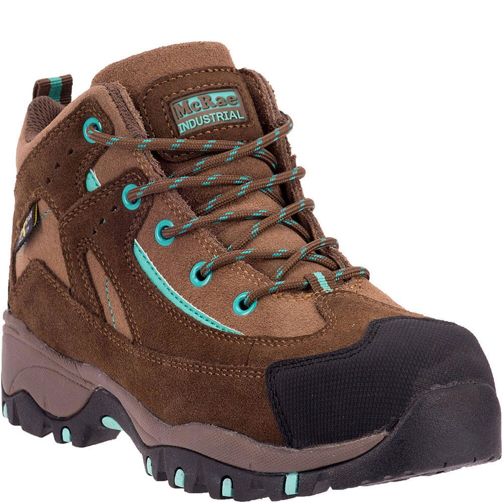 Image for McRae Women's Heat Resistant Safety Boots - Brown from bootbay