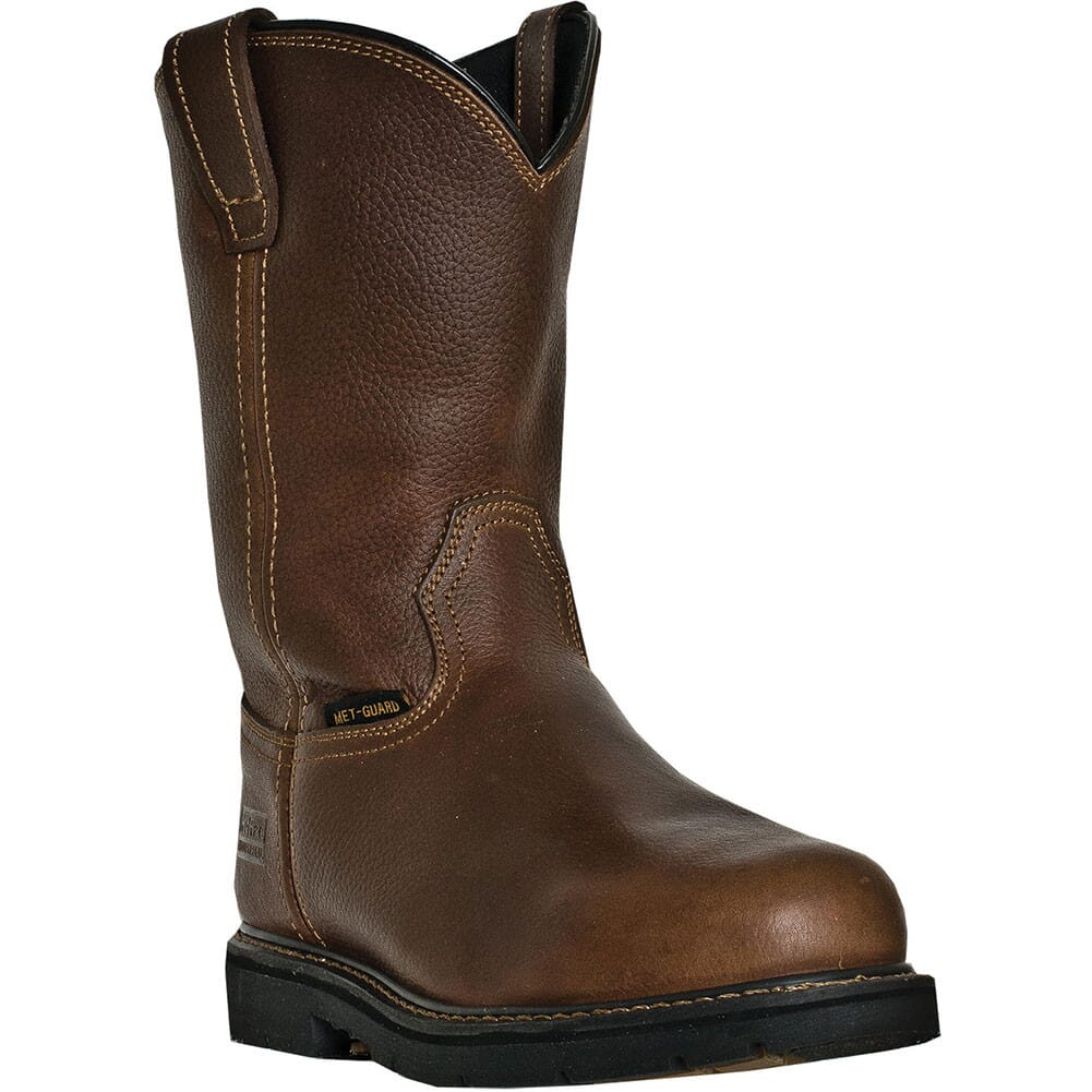 Image for McRae Men's Met Guard Safety Boots - Cognac from bootbay