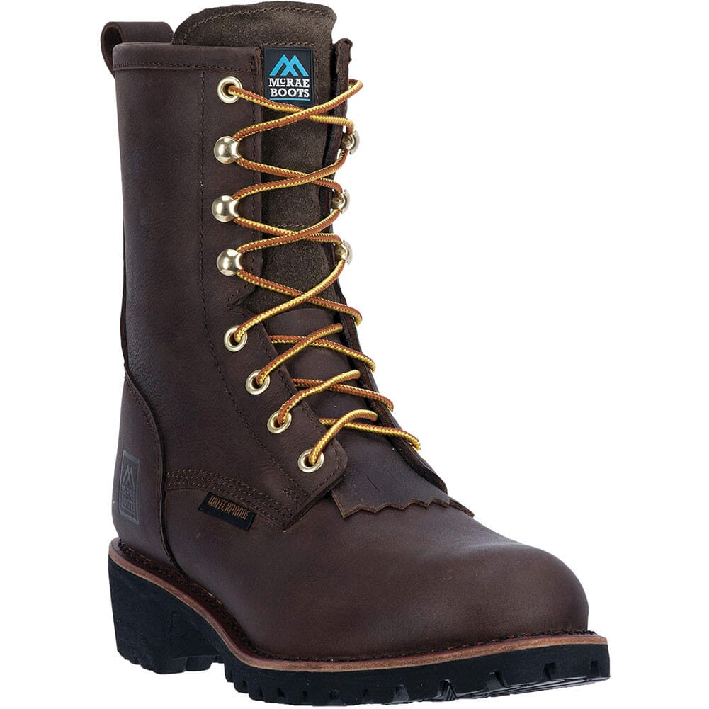 Image for McRae Men's WP Steel Toe Safety Boots - Dark Brown from bootbay