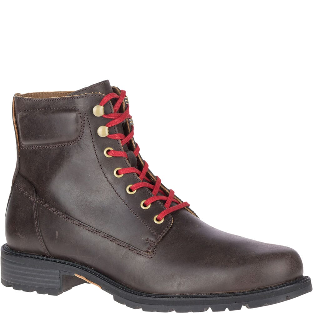Image for Merrell Men's Legacy Mid WP Casual Boots - Espresso from bootbay