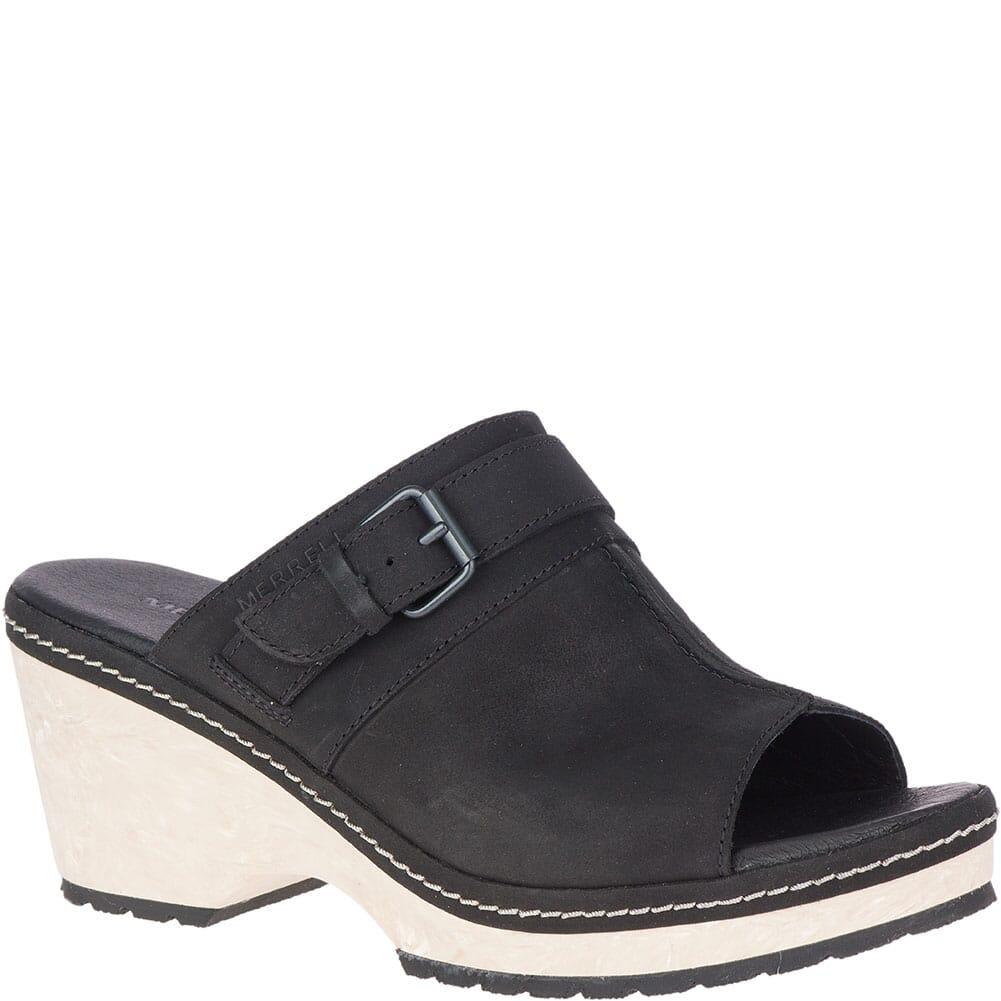 Image for Merrell Women's Halendi Slides - Black from bootbay