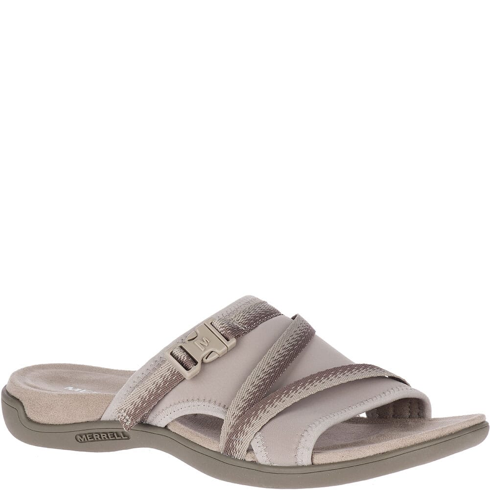 Image for Merrell Women's District Muri Slides - Moon from elliottsboots