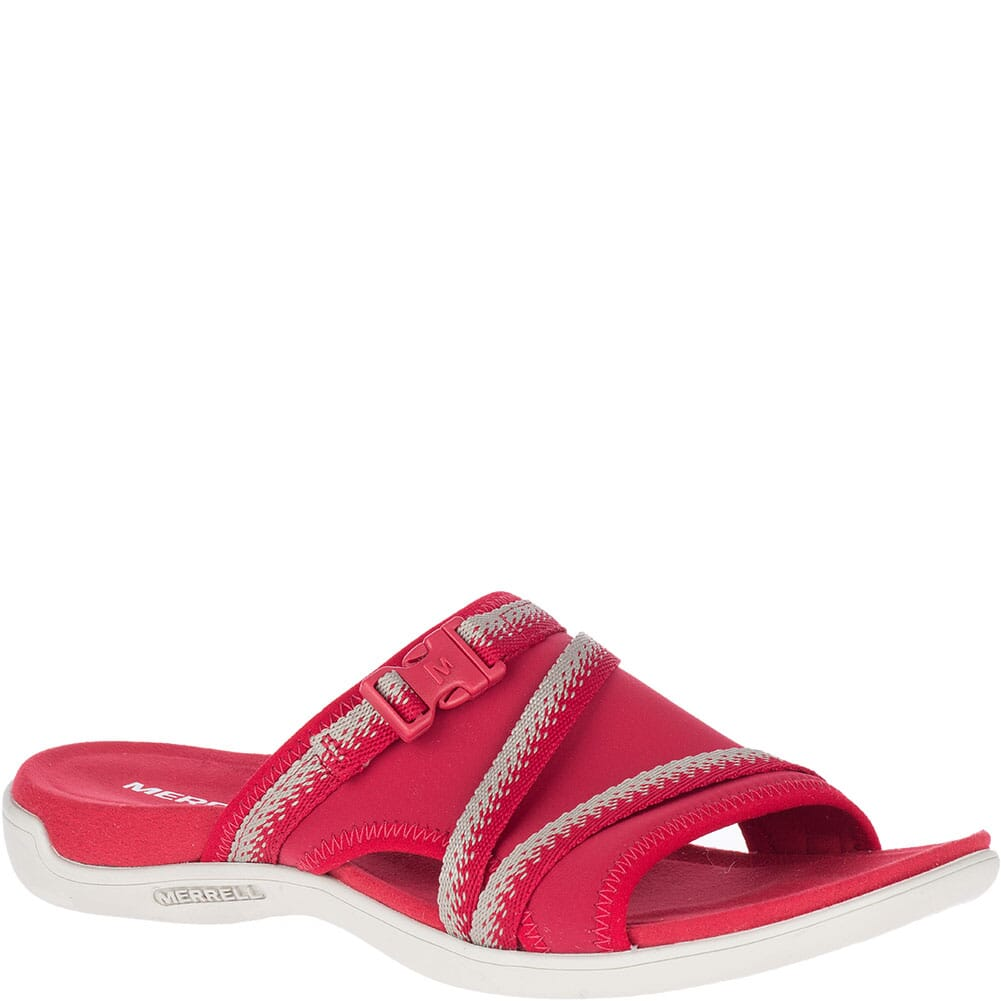 Image for Merrell Women's District Muri Slides - Chili from bootbay