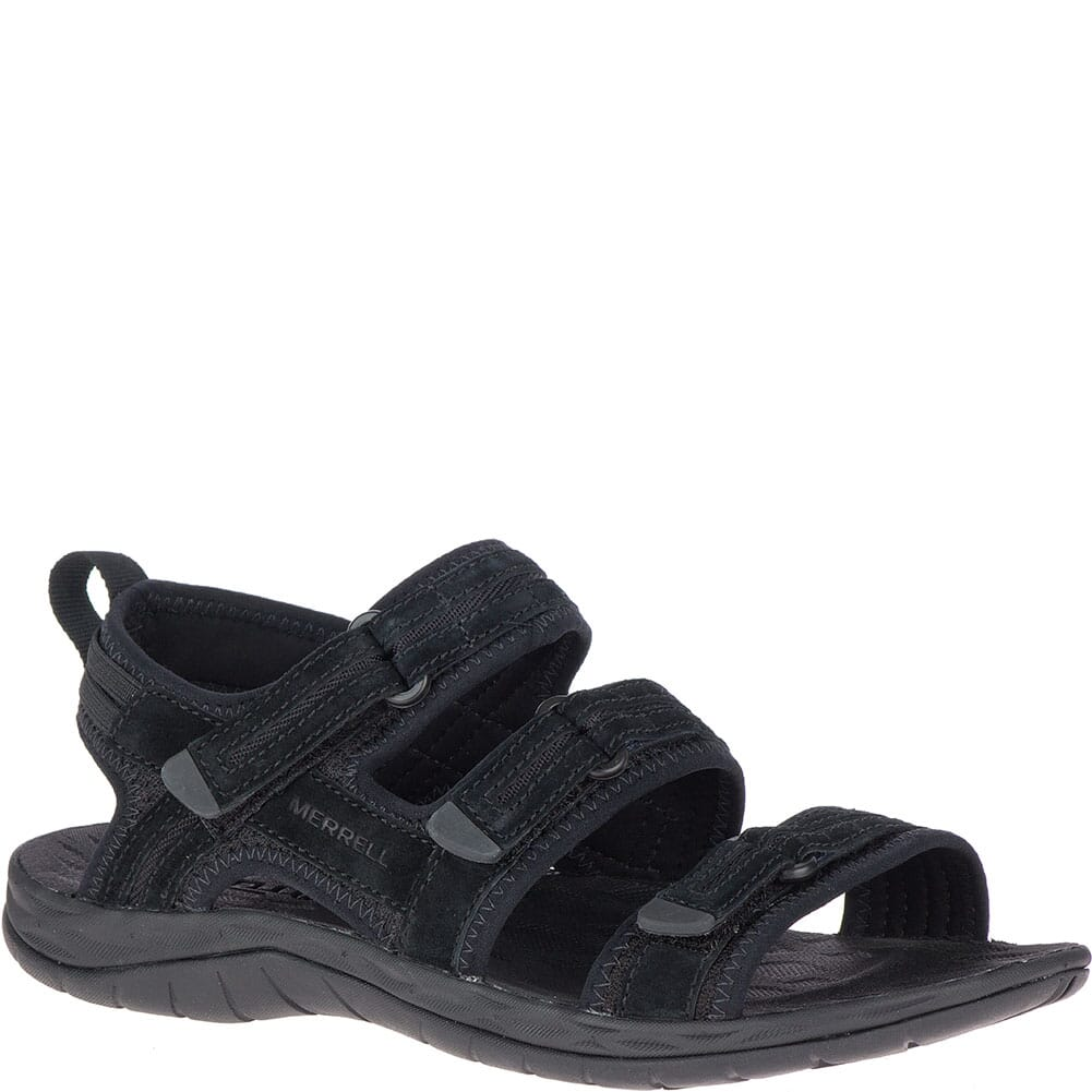 Image for Merrell Women's Siren 2 Strap Sandals - Black from elliottsboots