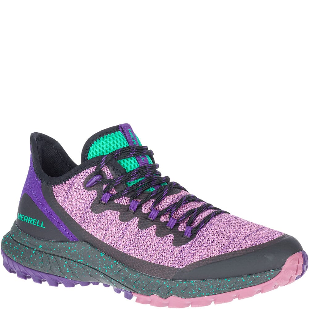 Image for Merrell Women's Bravada Mesh Casual Shoes - Erica/Peacock from bootbay