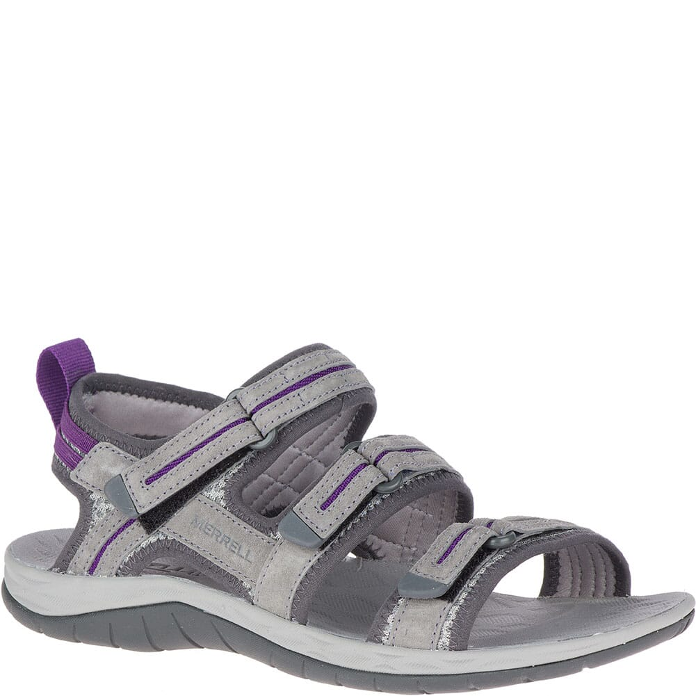 Image for Merrell Women's Siren 2 Strap Sandals - Grey from elliottsboots
