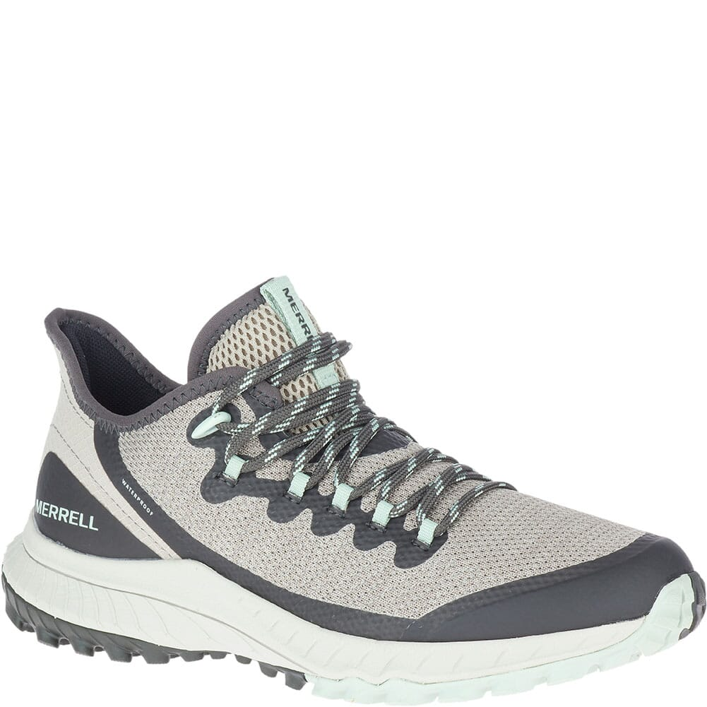 Image for Merrell Women's Bravada Waterproof Casual Shoes - Aluminum from bootbay