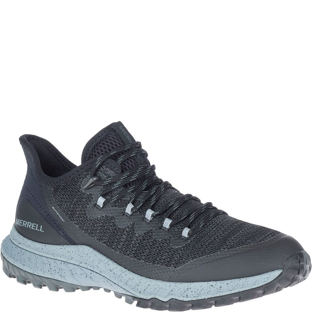 Image for Merrell Women's Bravada Waterproof Casual Shoes - Black/Grey from bootbay