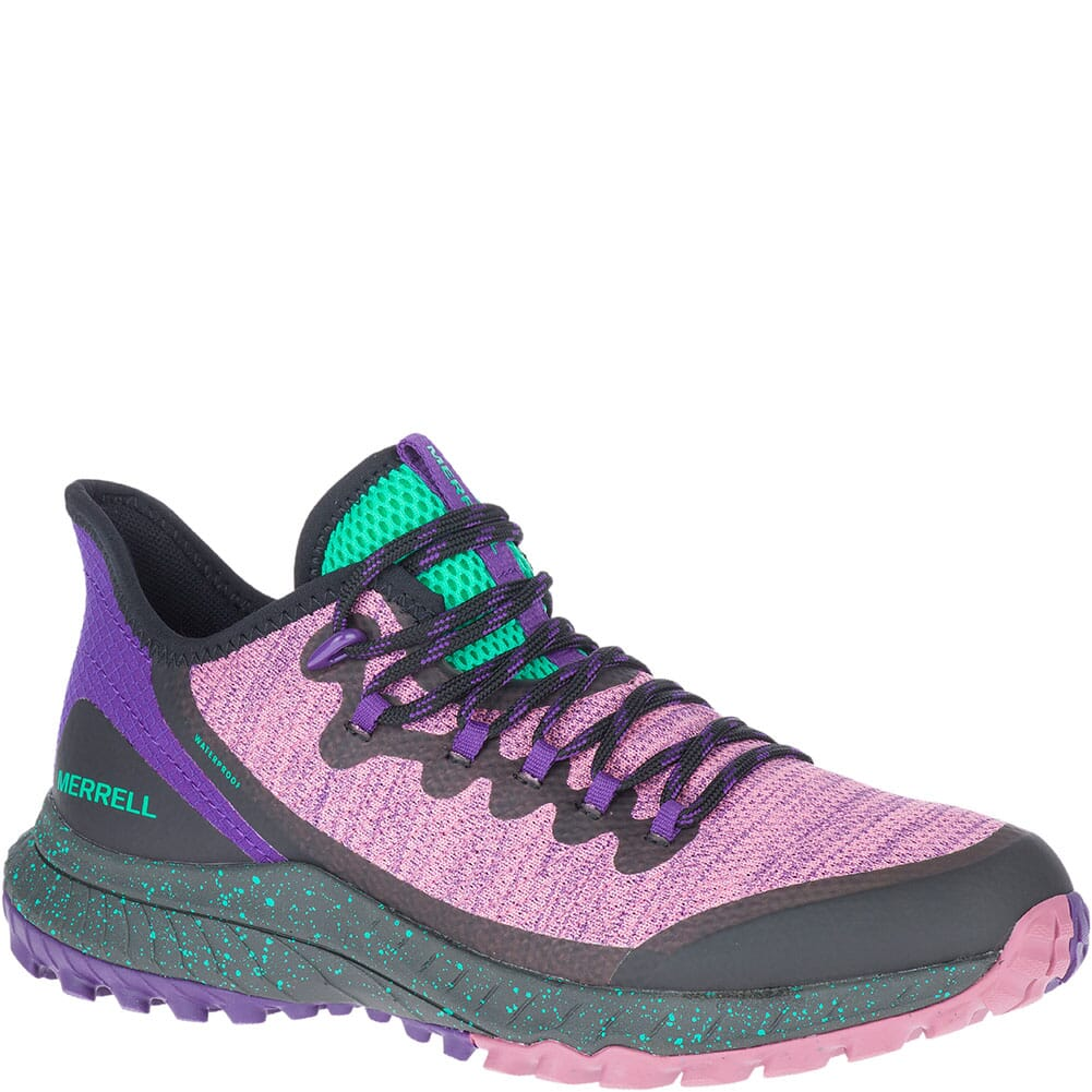 Image for Merrell Women's Bravada Waterproof Casual Shoes - Erica/Peacock from bootbay