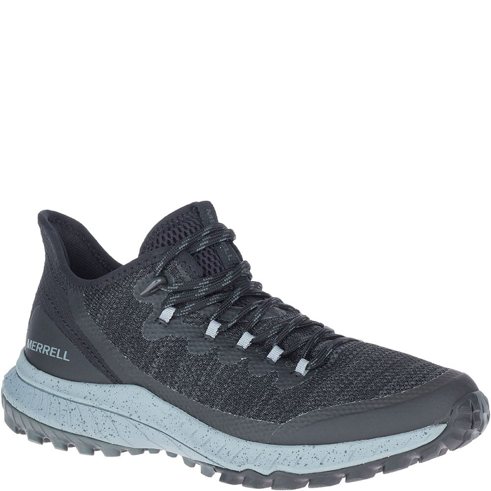 Image for Merrell Women's Bravada Mesh Casual Shoes - Black/Grey from bootbay