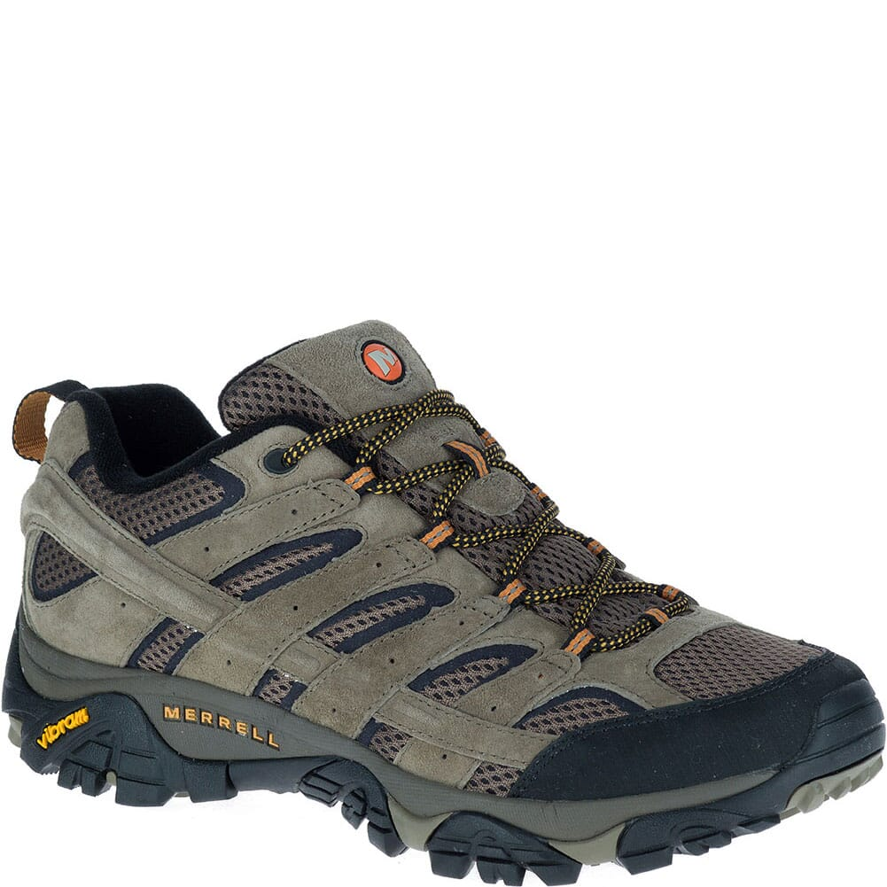 Image for Merrell Men's Moab 2 Hiking Shoes - Walnut from bootbay