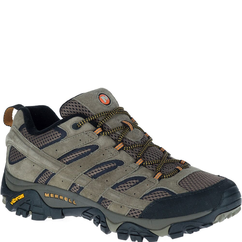 Image for Merrell Men's Moab 2 Wide Hiking Shoes - Walnut from bootbay