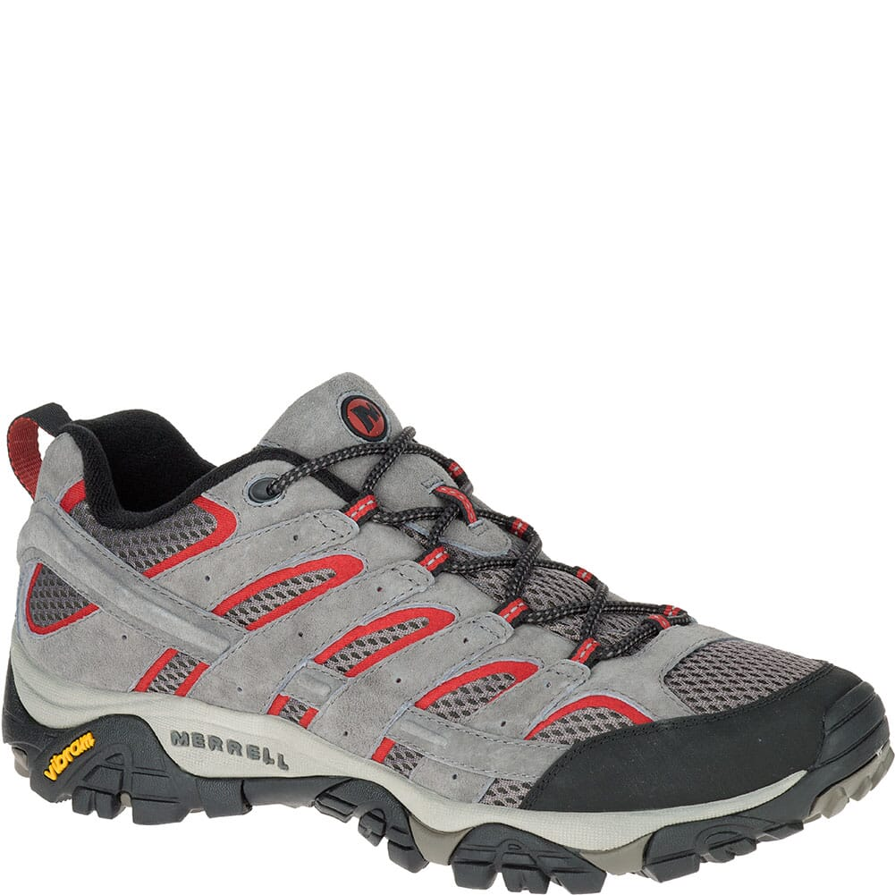 Image for Merrell Men's Moab 2 Ventilator Wide Hiking Shoes - Charcoal Grey from bootbay