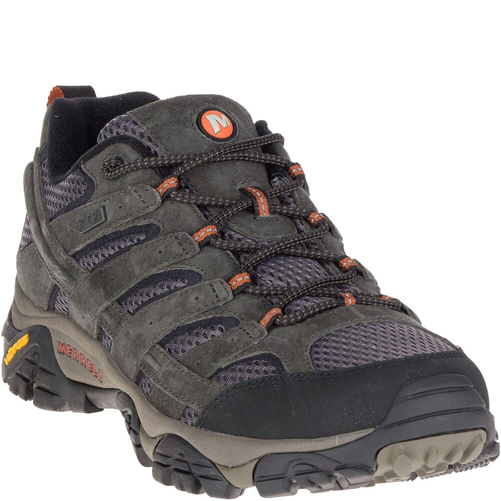 Image for Merrell Men's Moab 2 WP Hiking Wide Shoes - Beluga from bootbay
