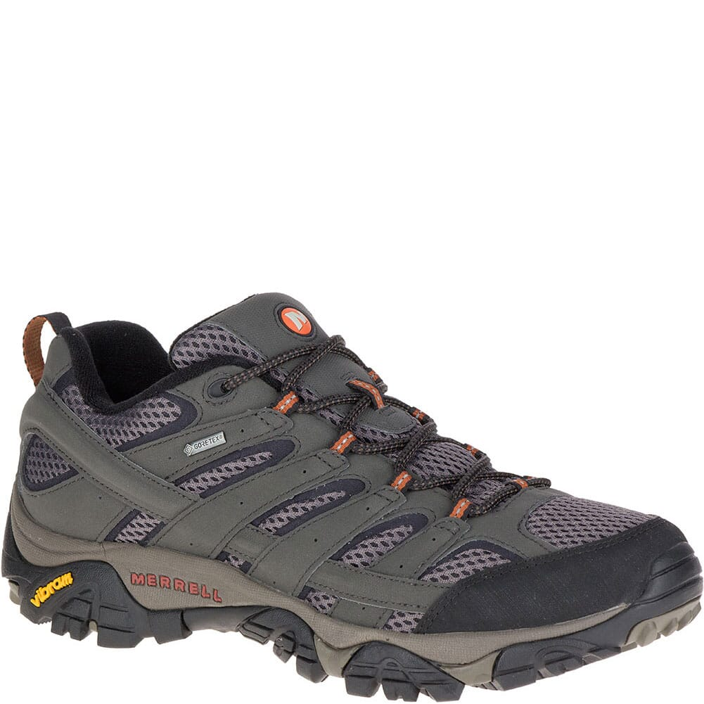 Image for Merrell Men's Moab 2 GTX Wide Hiking Shoes - Beluga from bootbay