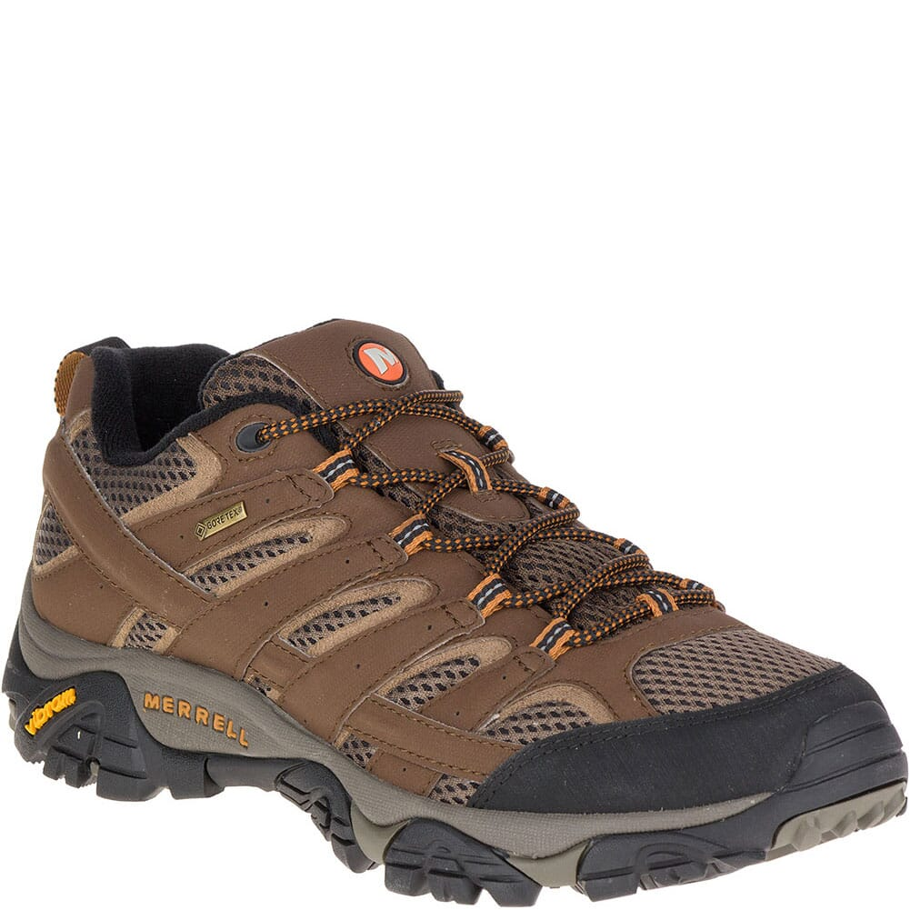 Image for Merrell Men's Moab 2 GTX Wide Hiking Shoes - Earth from bootbay
