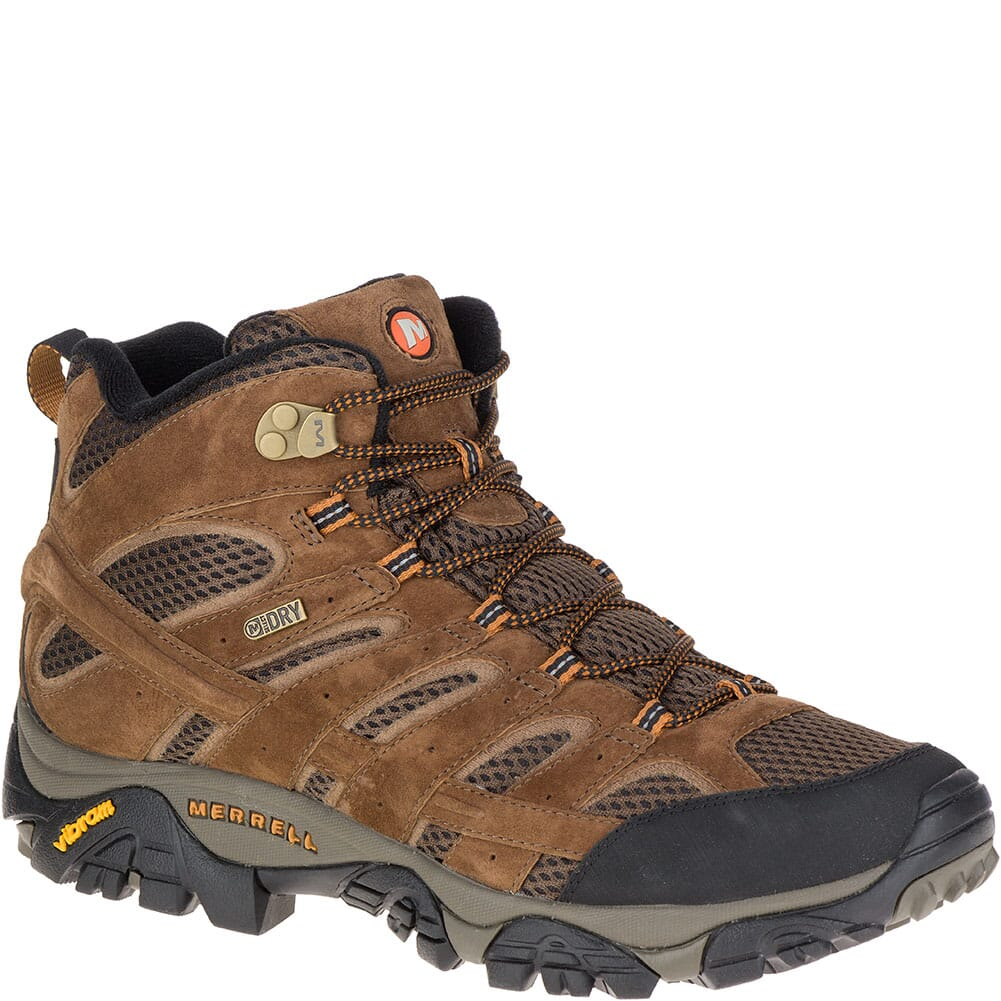 Image for Merrell Men's Moab 2 Mid WP Hiking Boots - Earth from bootbay