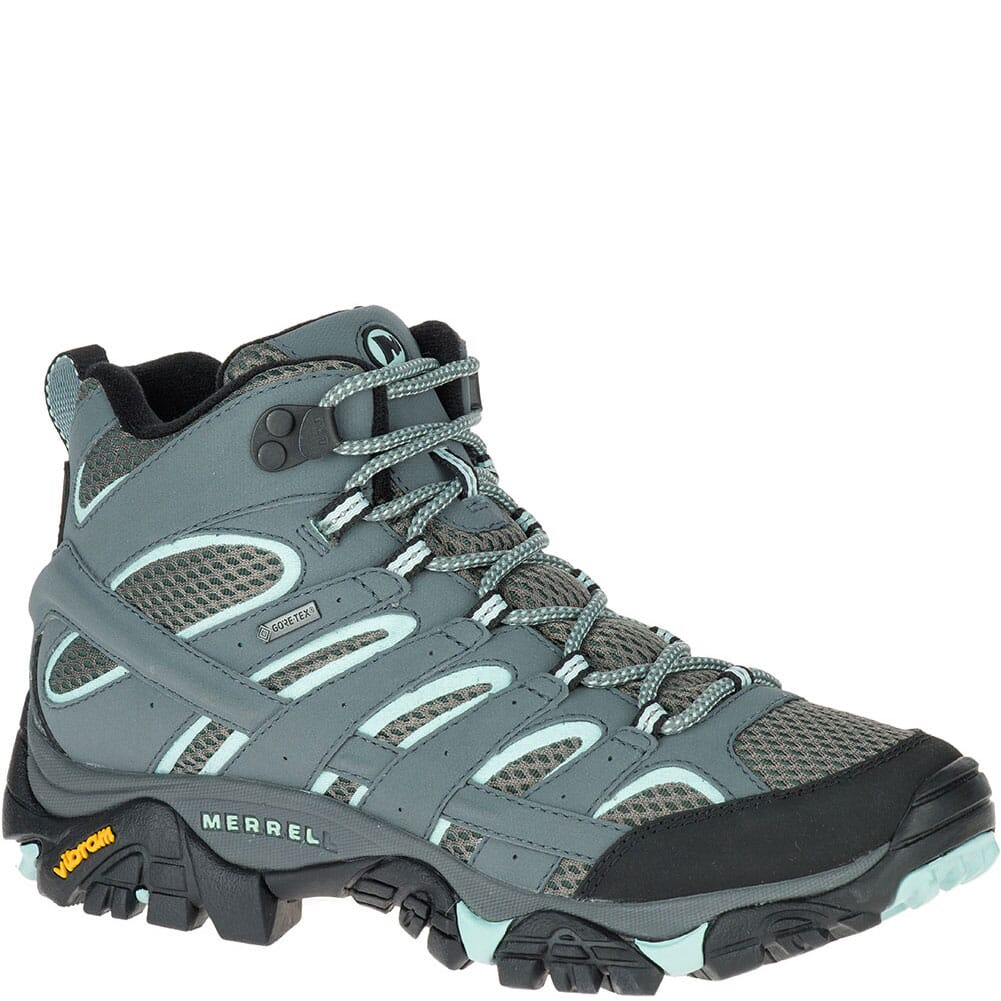 Image for Merrell Women's Moab 2 Mid GTX Hiking Boots - Sedona Sage from bootbay