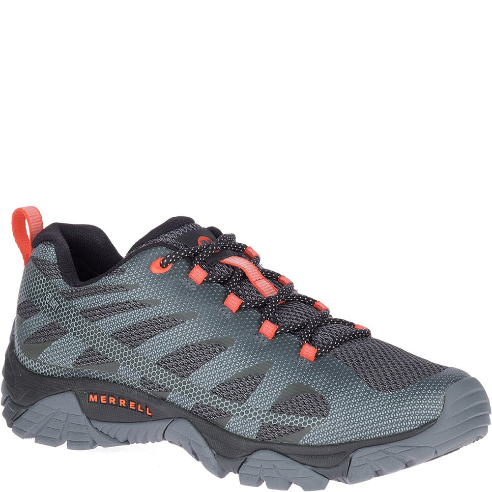 Image for Merrell Men's Moab Edge 2 WP Hiking Shoes - Monument from bootbay