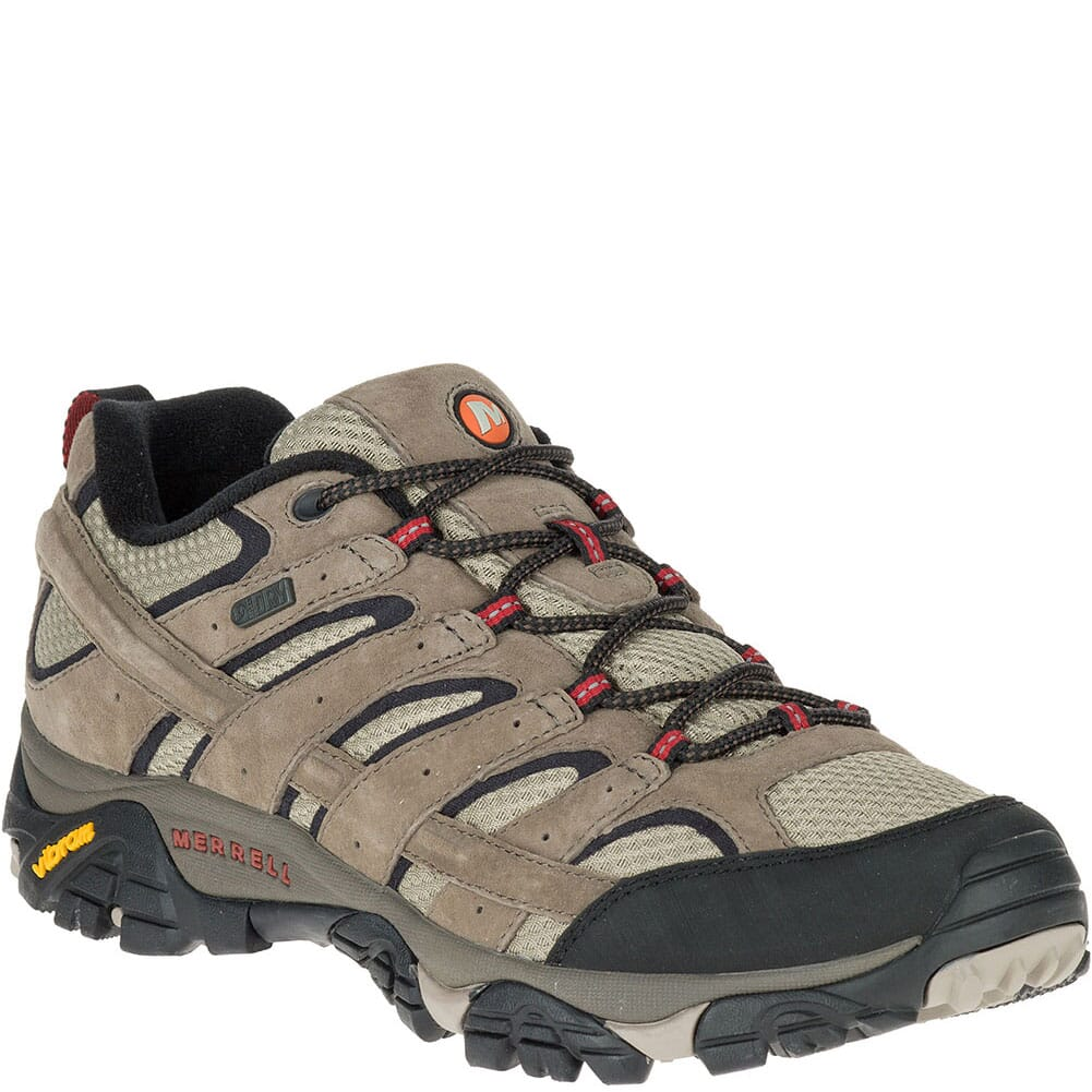 Image for Merrell Men's Moab 2 WP Hiking Shoes - Dark Brown from bootbay