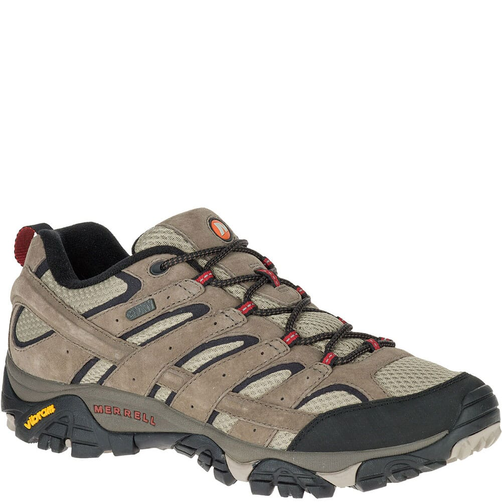 Image for Merrell Men's Moab 2 WP Wide Hiking Shoes - Dark Brown from bootbay